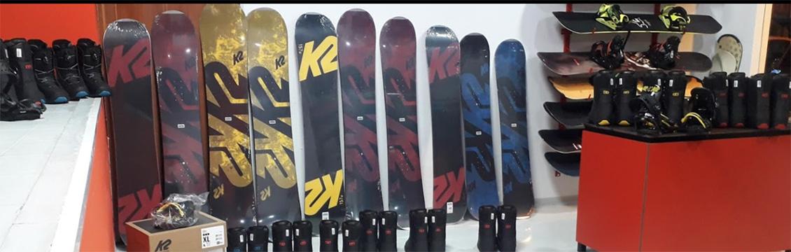 alquiler snowboard en sierra Nevada
