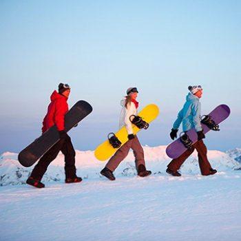 Alquiler Snowboard sierra nevada